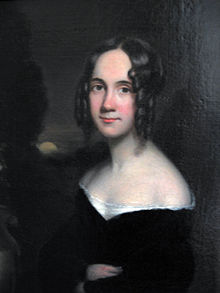A painting of Sarah Josepha Hale.